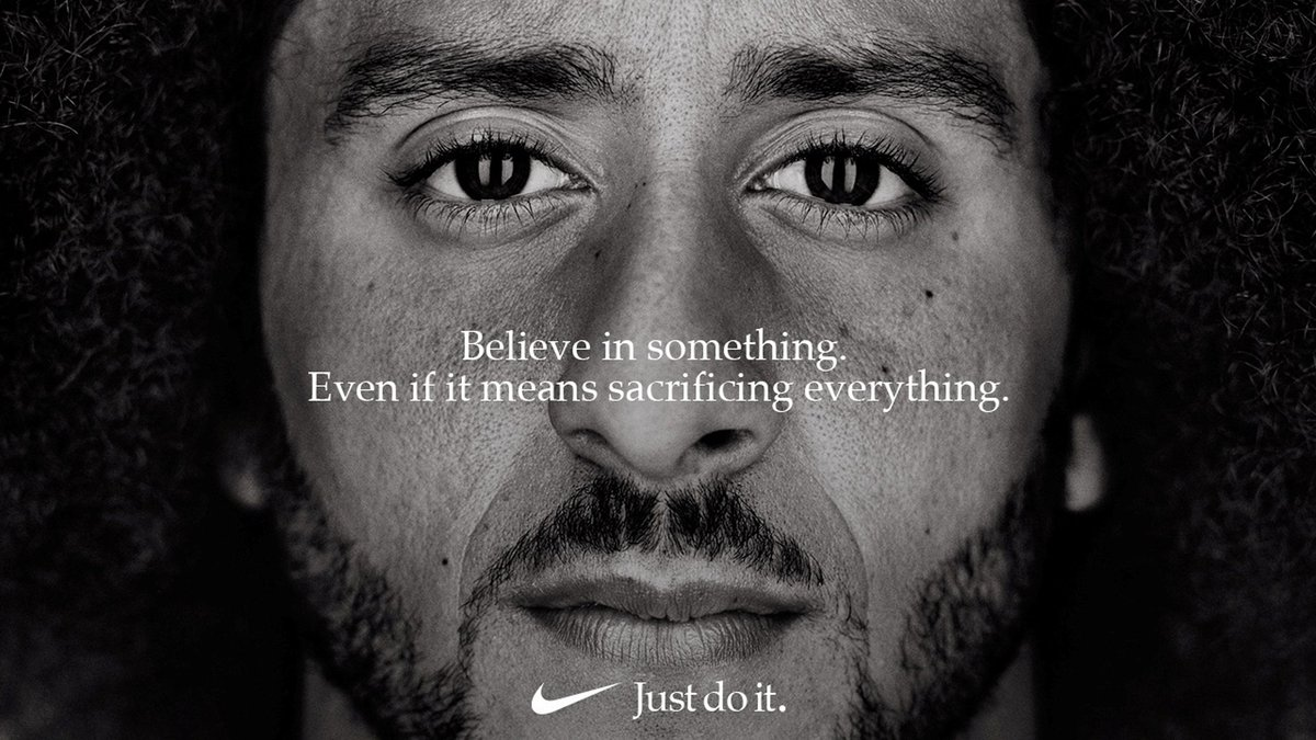 Companies often shy away from politics, but for Nike, it's a risk worth taking https://reut.rs/2wLGH41 via @Breakingviews