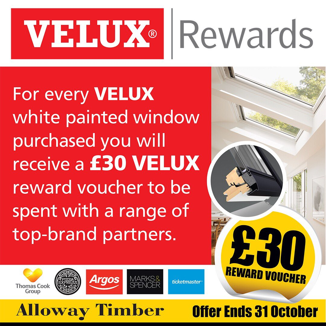 Alloway Timber On Twitter Every Time You Buy A Velux White