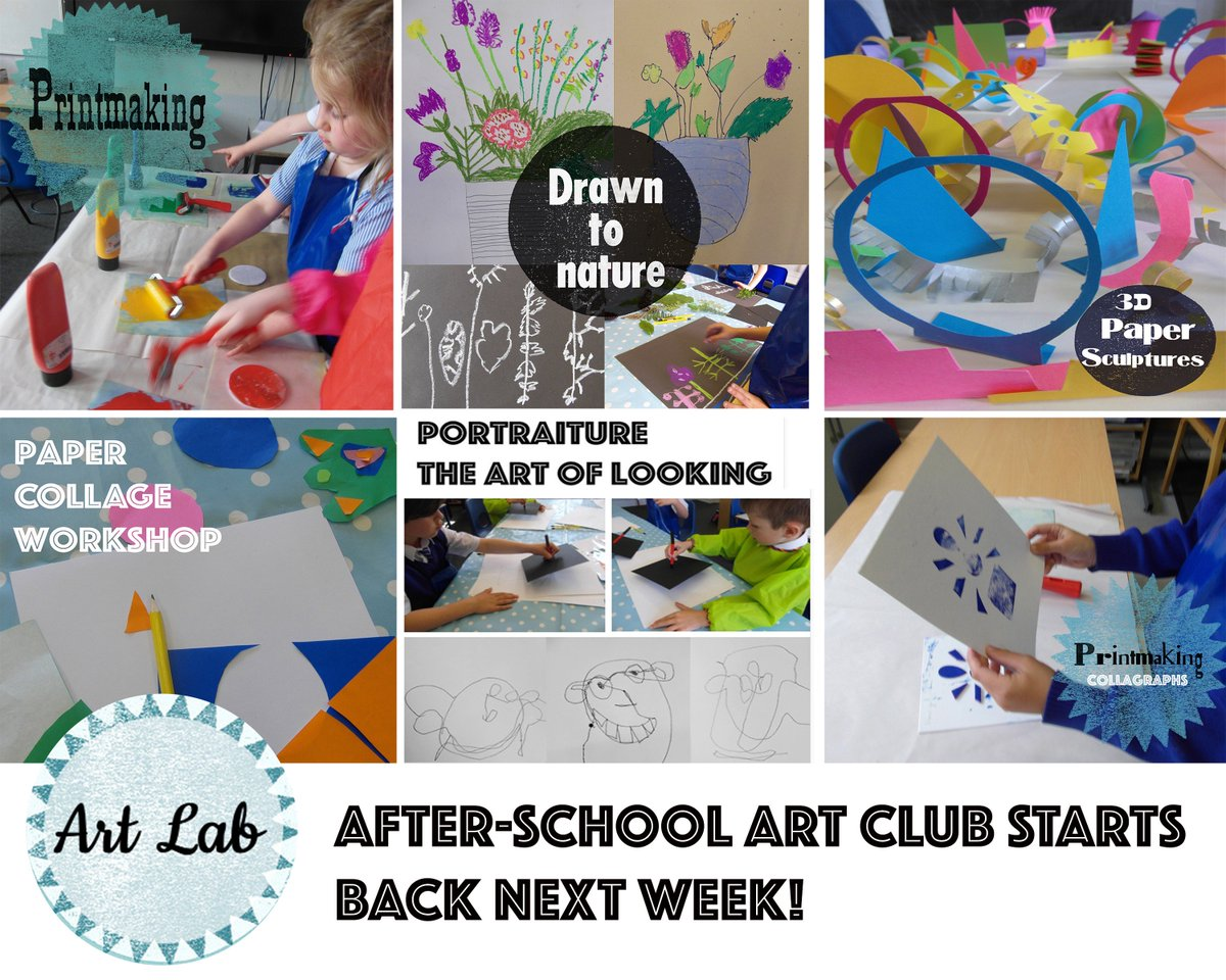 Art club at downton primary school if your interested in having a workshop at your school or venue please get in touch