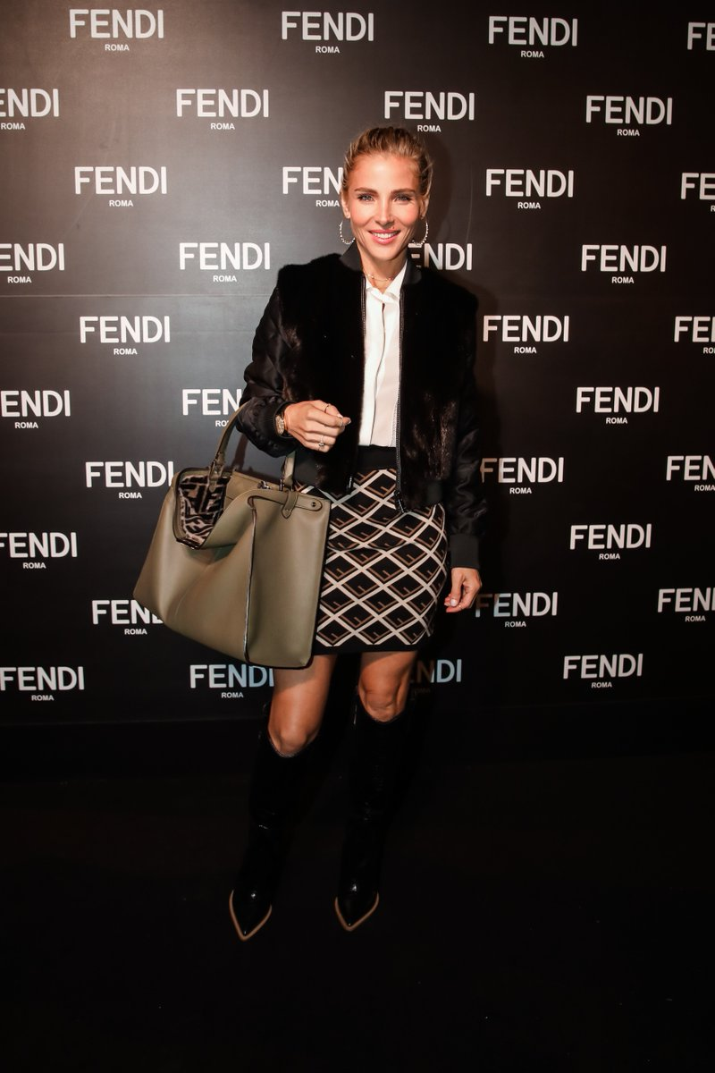 c904dcddc14 elsa pataky with the fendi peekaboo at the opening of the new fendi  boutique on collins