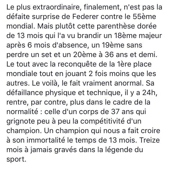 #Federer #USOpen18 #legend