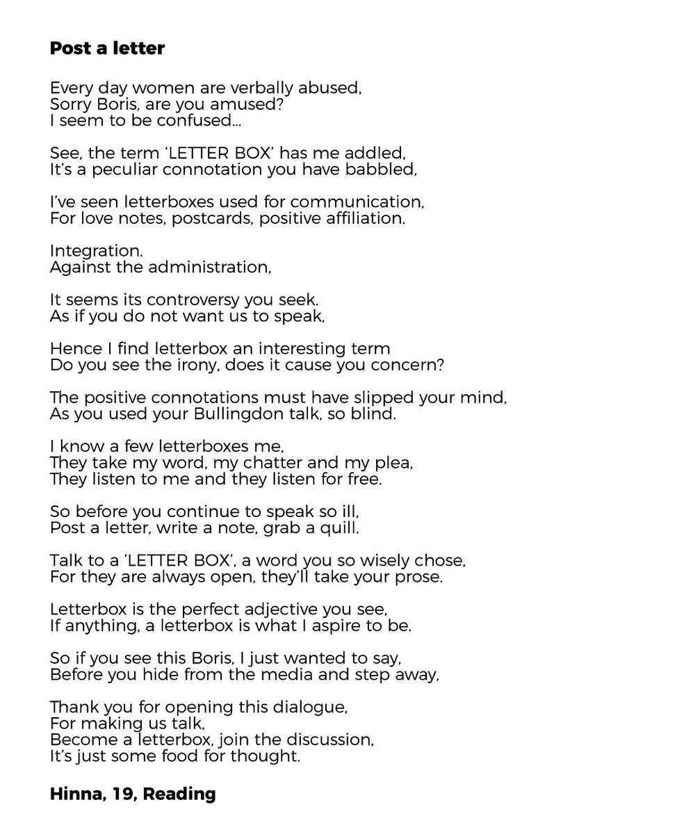 Mend Community On Twitter Poems From Mend Volunteers On