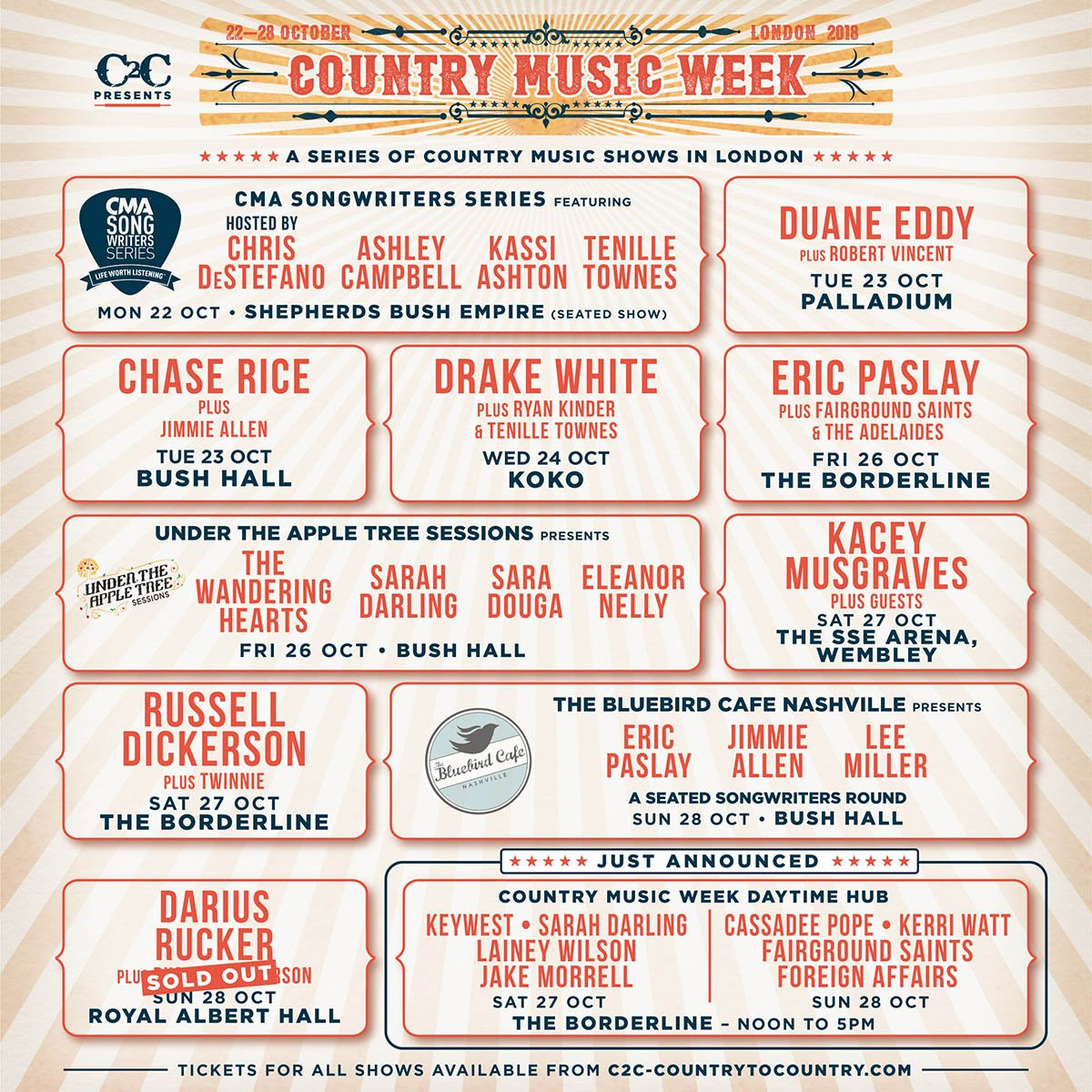 Country Music Week (@CountryMusicWK) | Twitter