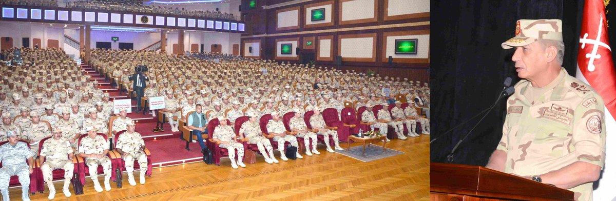 الفريق أول / محمد زكى القائد العام للقوات المسلحة وزير الدفاع والإنتاج يلتقى مقاتلى الجيش الثالث الميدانى DmUjmGvW4AEnkaf