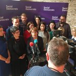 Image for the Tweet beginning: Press conf with party cllrs