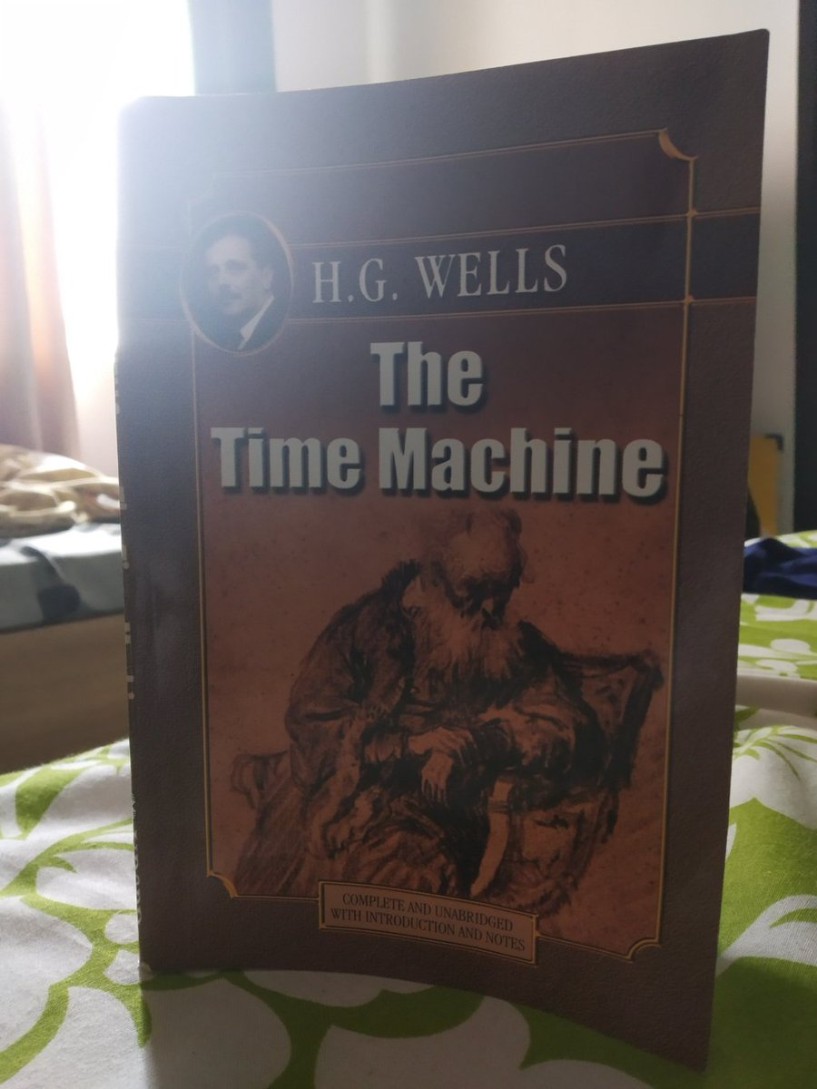 Book Review: The Time Machine by H. G. Wells https://theenigmaticcreation.wordpress.com/2018/09/05/book-review-the-time-machine-by-h-g-wells/ …