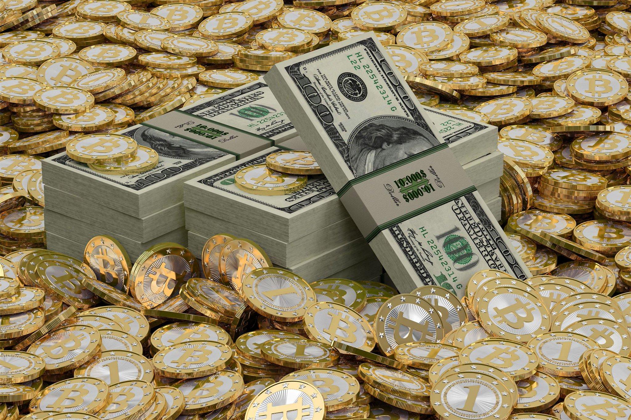 Картинка с золотом и деньгами, мишка косолапый