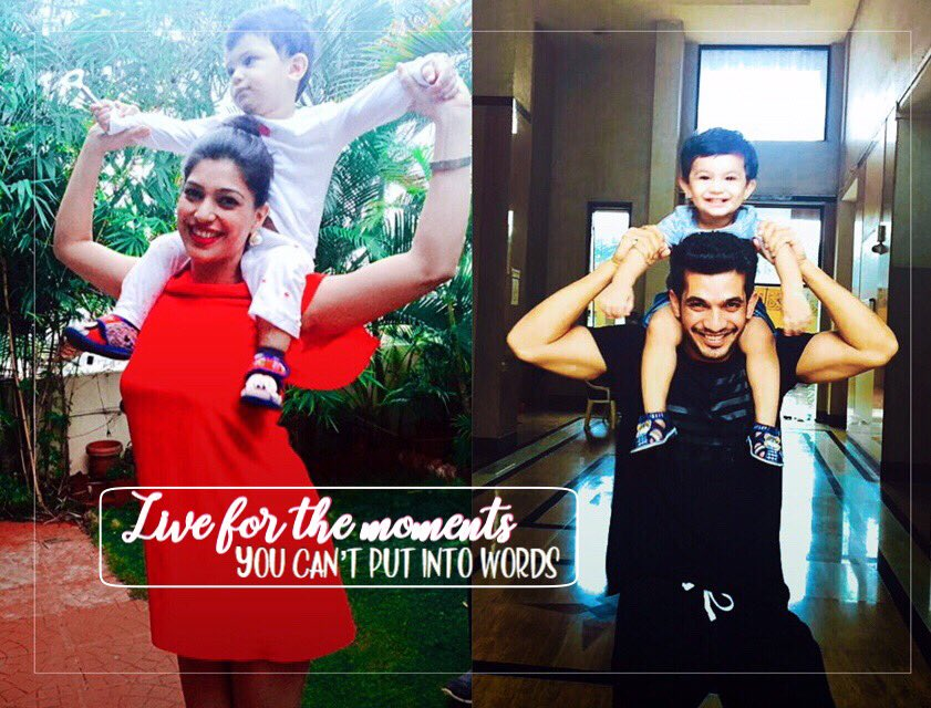 Live for the moments you can't put into words.  @Thearjunbijlani #NehaSwami #AyaanBijlani pic.twitter.com/gLnzigN1CX