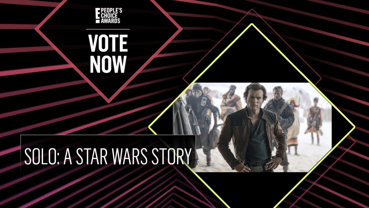 Vote for solo: a star wars story by retweeting this post