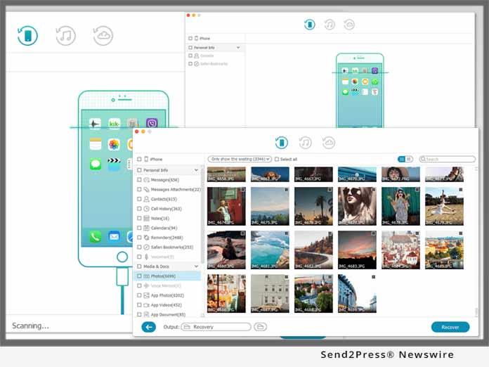 تحميل برنامج TunesKit iPhone Data Recovery 2.1.0 لاسترجاع بيانات الايفون النسخة الكاملة المدفوعة للكمبيوتر مجانا