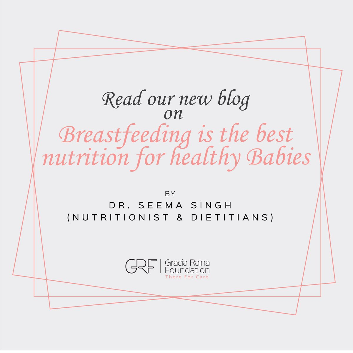 Breastfeeding is the best nutrition for healthy growth and development of the babies. graciarainafoundation.com/single-post/20…