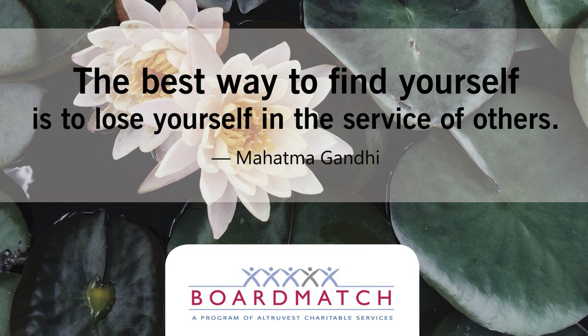 #altruvest #BoardMatch #leadership #improvement #charityCanada #charity #volunteer #leaders #communities #charities #leadershipskills #volunteering #board #toronto #volunteertoronto #volunteertoday #skills #motivation #newweek #newgoals #growth #quotes #Gandhi