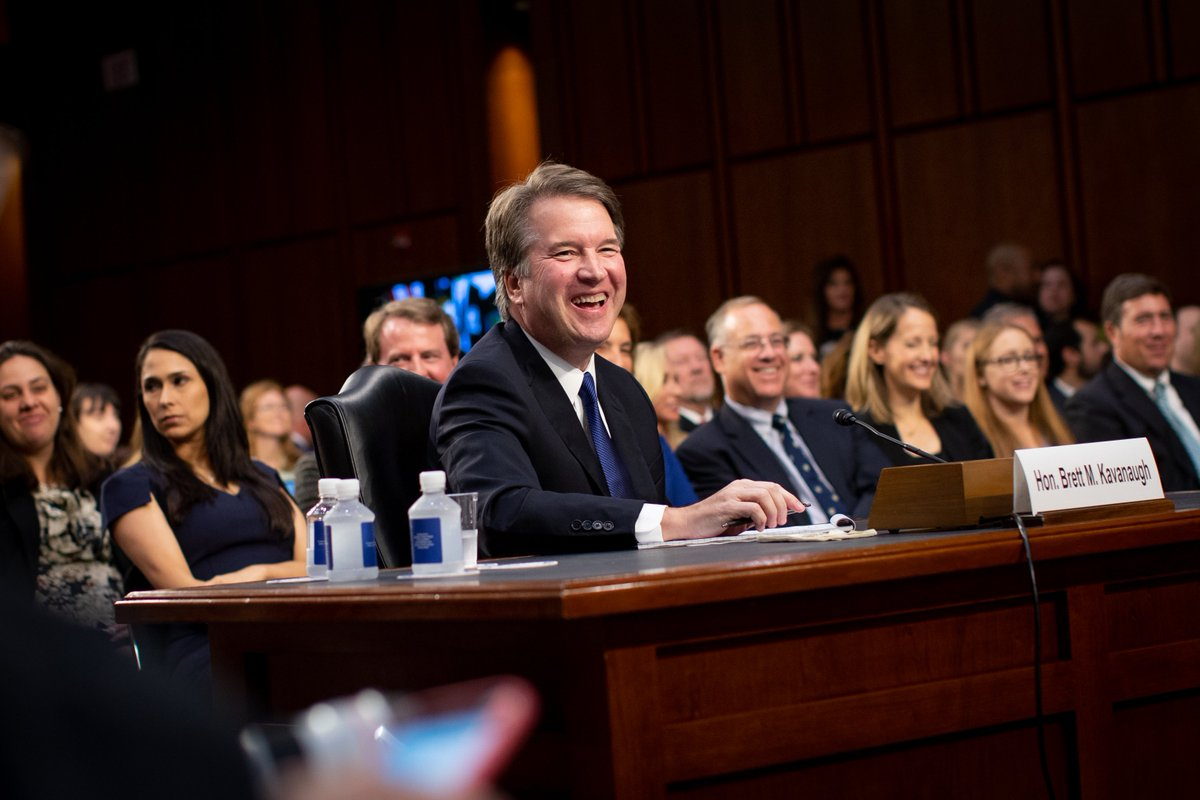 """""""I am an optimist. I live on the sunrise side of the mountain … I see the day that is coming, not the day that is gone. I am optimistic about the future of America and the future of our independent Judiciary.""""  -Judge Kavanaugh #SCOTUS"""