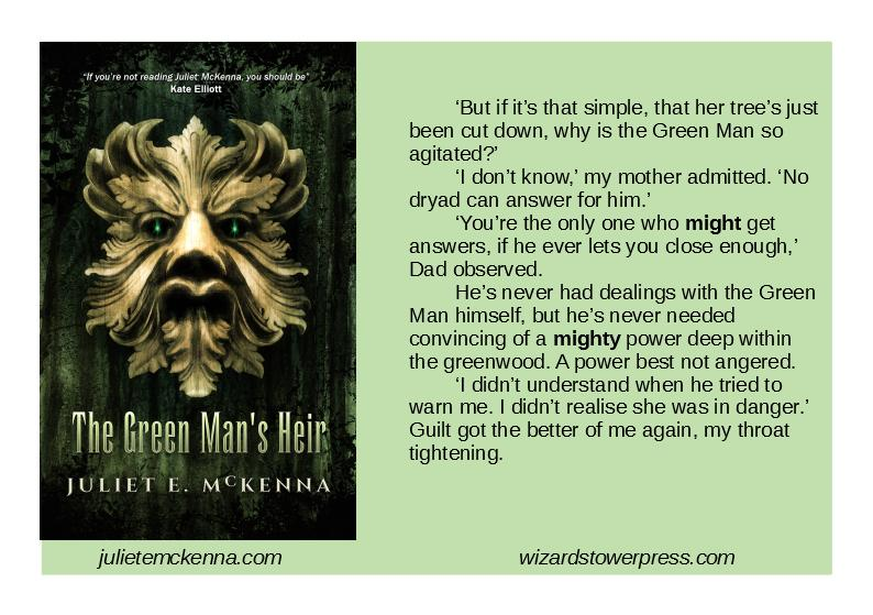5f051bb9cb5a  bookqw Find out more about The Green Man s Heir from  WTPress  http   wizardstowerpress.com books-2 books-by-juliet-e-mckenna the-green-mans-heir   ...