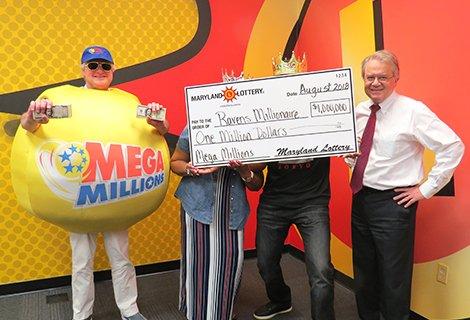 Maryland Lottery's tweet -