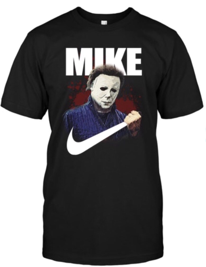 I mean.... come ON! Need/want! Standing with @Nike and @halloweenmovie