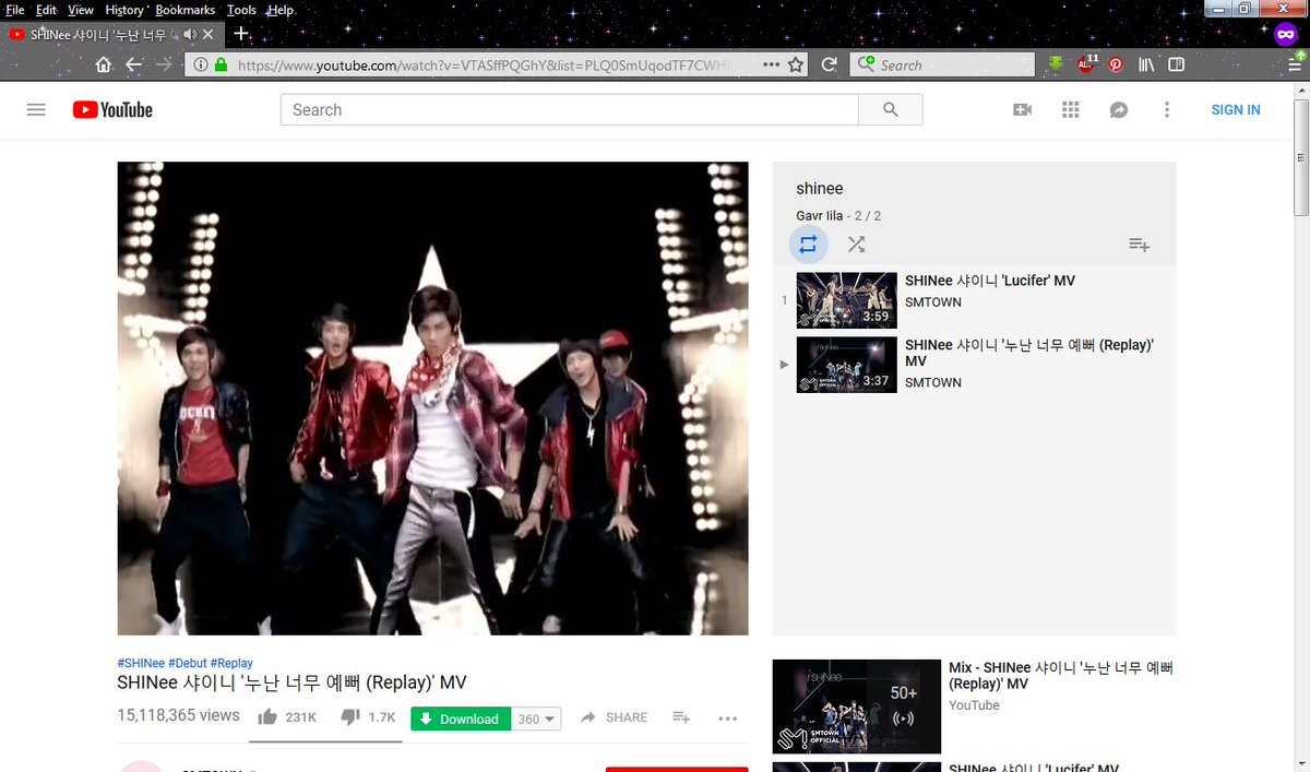 100millionforshinee tagged Tweets and Download Twitter MP4
