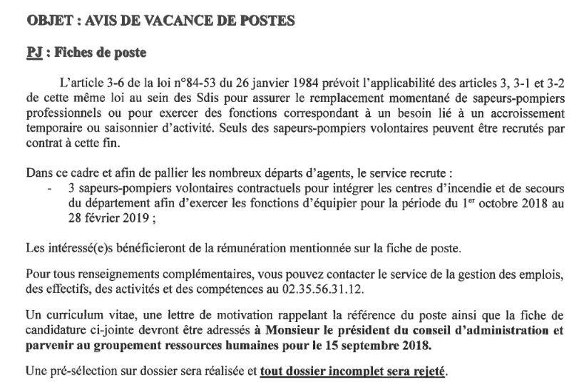 Sapeurs Pompiers 76 On Twitter Recrutement Le Sdis76