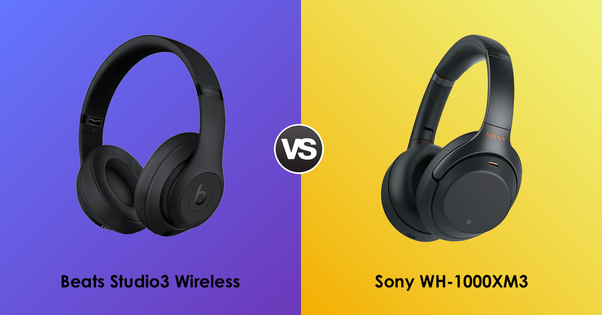 5ef8a0f7f39 Discover how the best noise-canceling #wireless #headphones compare: the  new #Sony WH-1000MX3 vs the #Beats Studio3 Wireless ...