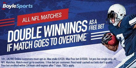 Boylesports NFL Betting Offer