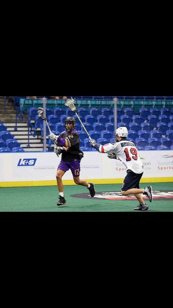 """Another Iroquois World Junior player! #12 Nonkon Thompson (@shonwahnonkon19) Age: 18 Team: @IrqLax/ Akwesasne Indians What're you looking forward to most about #LASNAI? """"Lookin to to show the thompson brothers what this thompson can do"""""""