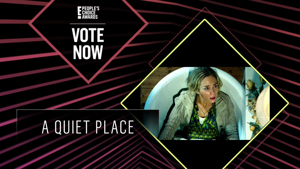 Vote For A Quiet Place By Retweeting This Post Aquietplace Themovie Pcas