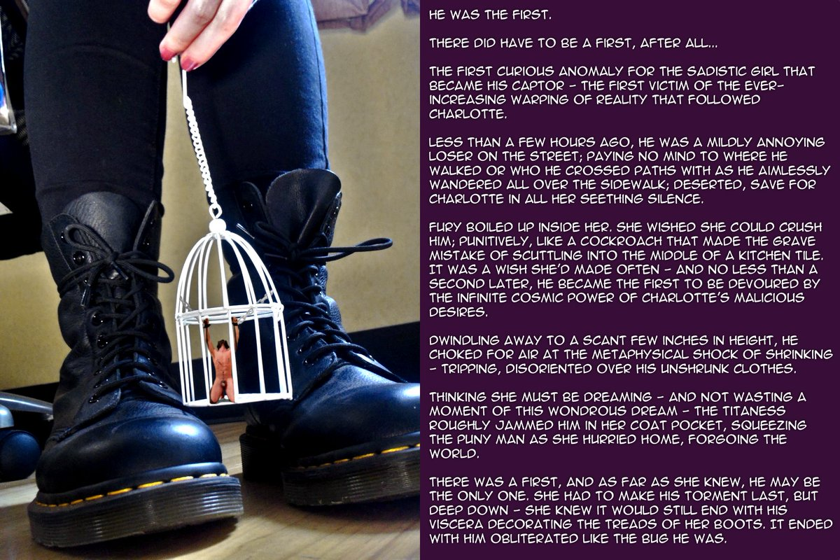 Charlotte Valis On Twitter Part 1 Of A Fun Little Picture Story By A Very Loyal Little Worm Giantess Goddess Evil Femdom Findom Fetish