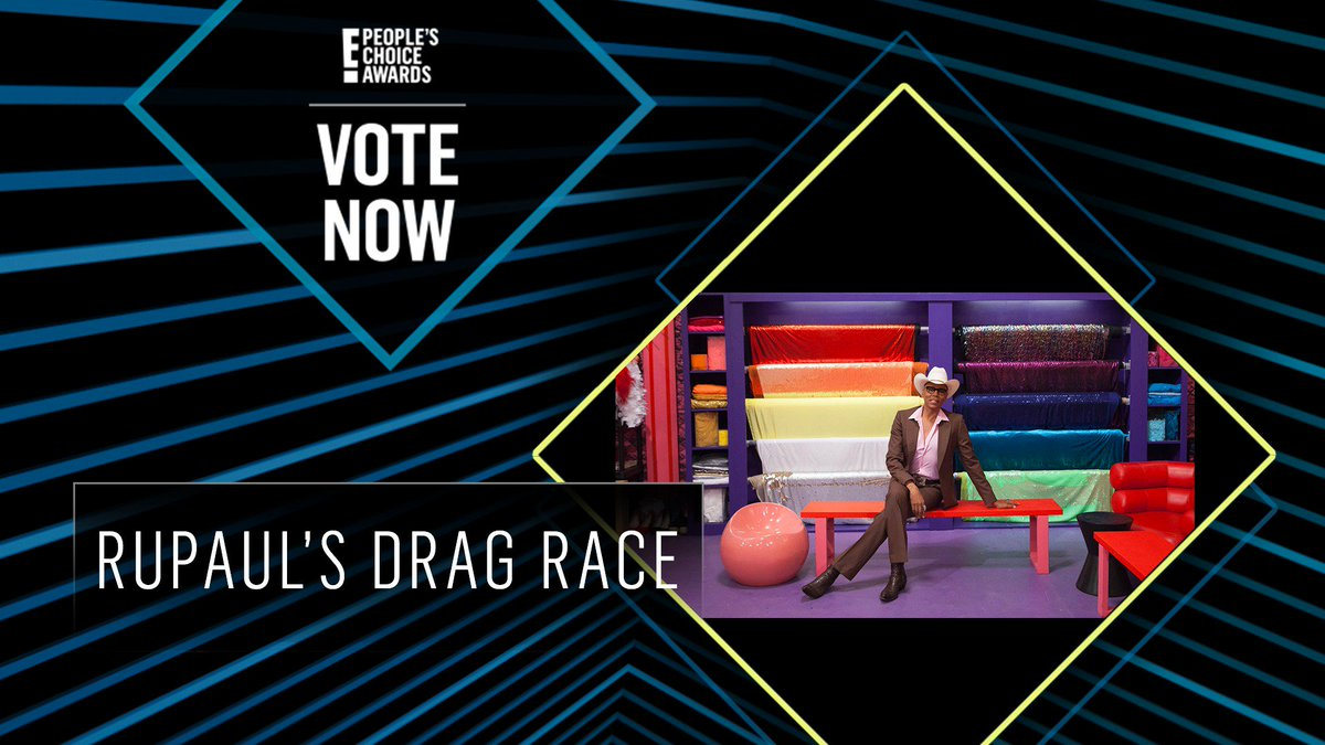 Vote for RuPaul's Drag Race by retweeting this post: #DragRace #TheCompetitionShow #PCAs