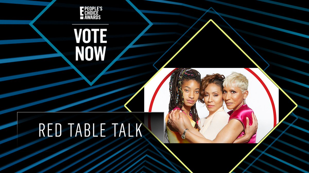 Vote for Red Table Talk by retweeting this post: #RedTableTalk #TheDaytimeTalkShow #PCAs