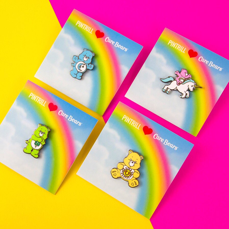 #PINTRILL x @CareBears 🌈 Which bear is your favorite? 🐻 SHOP NOW: pintrill.com/collections/ca…
