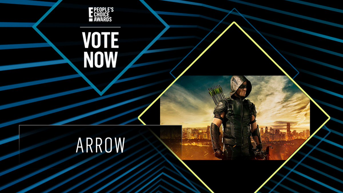 Vote for Arrow by retweeting this post: #Arrow #TheScifiFantasyShow #PCAs