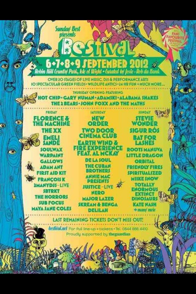 This very day in 2012 I set off to my first festival! @Bestival 2012 and what a life changing experience! Thank you @RobdaBank and @TDCinemaClub #TopDraw https://t.co/l6FgtpIa0r