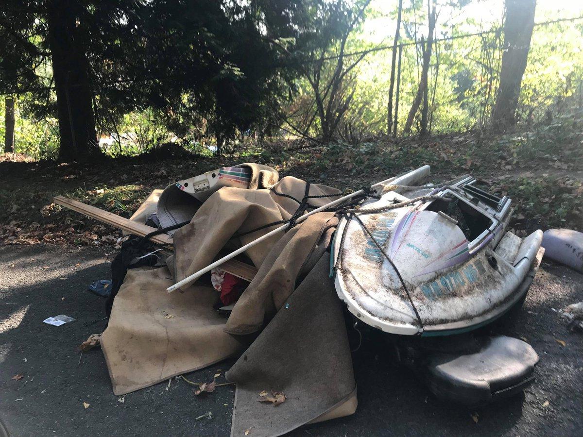 Columbia City Illegal Dumping Cdumping Twitter