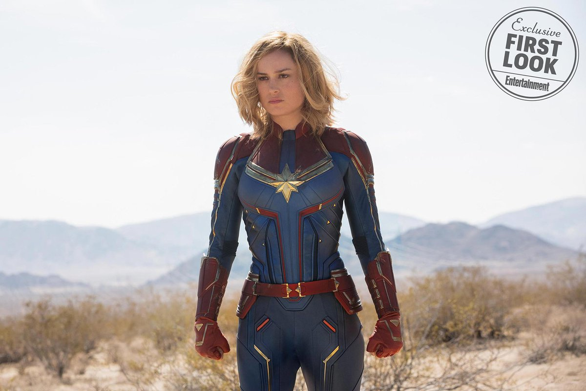See , Jude Law and  in these 10 exclusive new photos from :   #CaptainMarvel https://t.co/lORjocbqsg