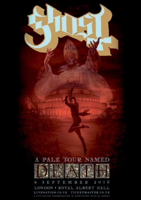 Message From The Clergy We Wish To Inform You Ghost Will Haunt The Lands Of London England This Sunday For A Sold Out Performance At The Legendary
