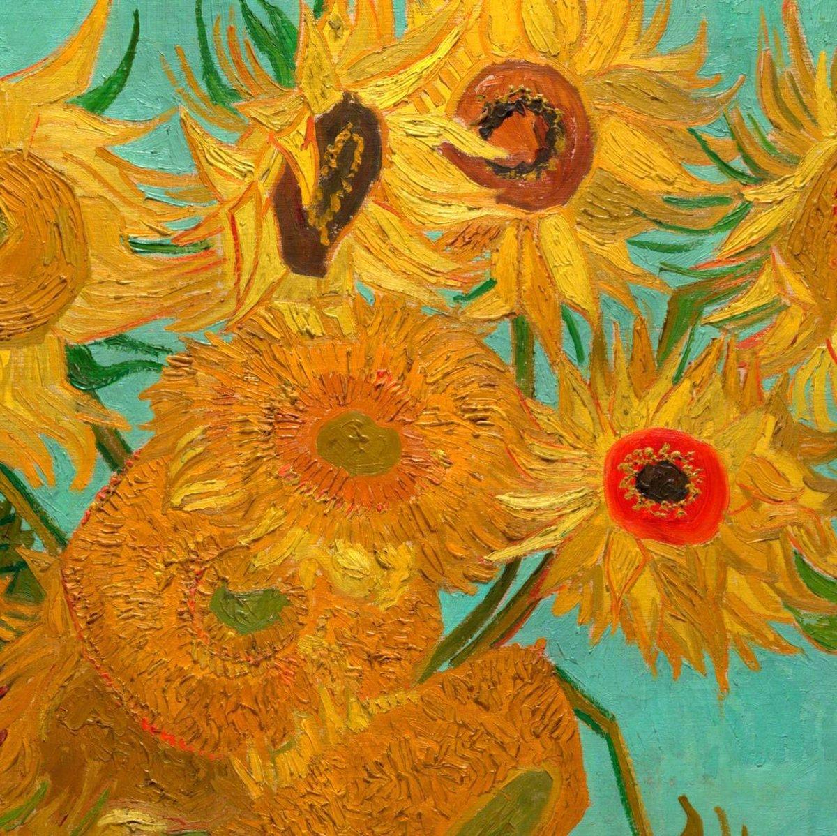Aesthetic Sharer Zhr On Twitter Van Gogh S Flower Painting
