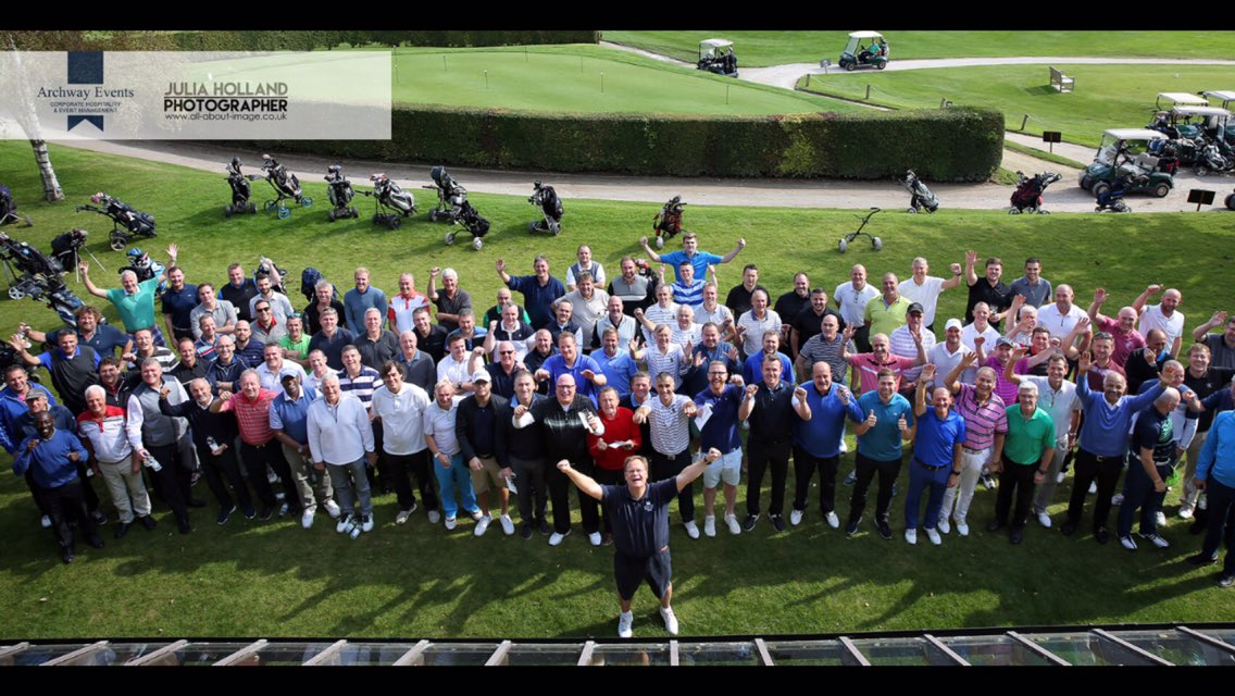 Photo from last year by @JuliaHolland - Norfolk's biggest celebrity charity golf day @barnhambroom this year's event is even bigger - absolutely delighted that 30 celebrities are attending from the world of sport - football, rugby, boxing, snooker, darts, horse racing & cricket !