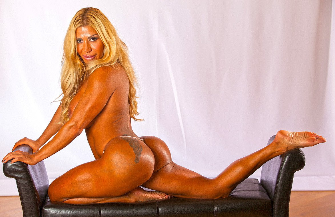 Body busty female fitness hard sexy