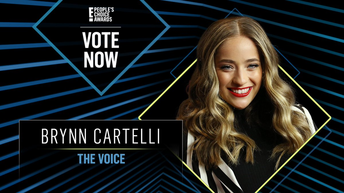 Vote for Brynn Cartelli from The Voice by retweeting this post: #BrynnCartelli #TheCompetitionContestant #PCAs