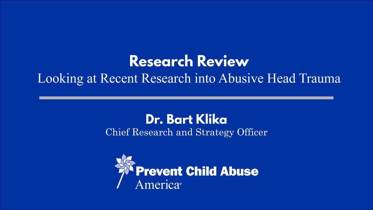 child abuse research Using information collected through various monitoring and reporting systems, the children's bureau analyzes and reports data on a variety of topics, including adoption, foster care, and child abuse and neglect.