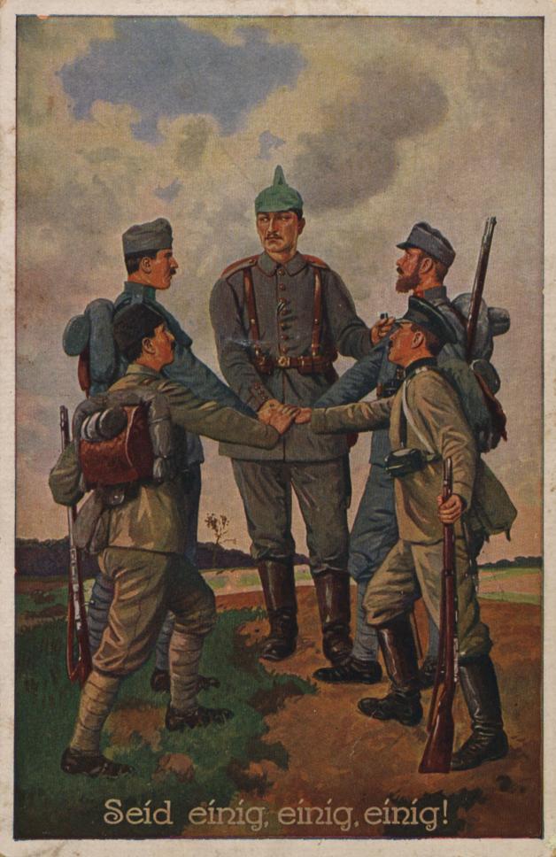 Картинки боссу, немецкий солдат на открытке