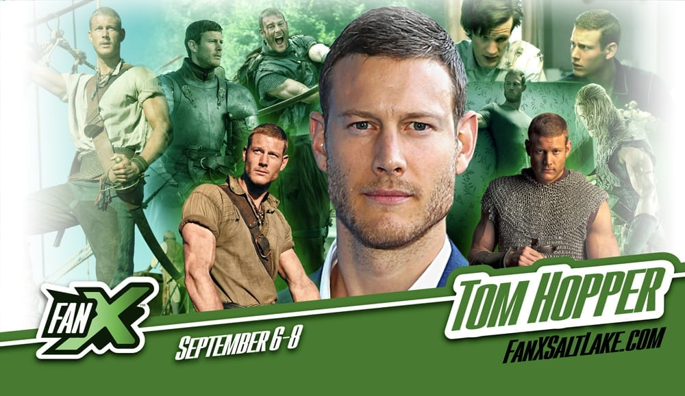 Get ready Salt Lake City! Don't miss our @Tomhopperhops who will be at the @fanxsaltlake from the 6th-8th September #fanxsaltlake #comicconvention