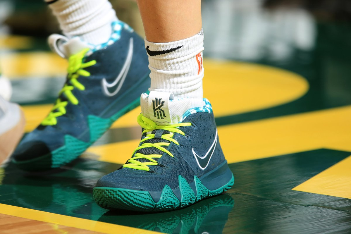 solewatch s10bird sent the seattlestorm to the wnba finals in cncpts green  lobster nike kyrie 4s 3be858d35