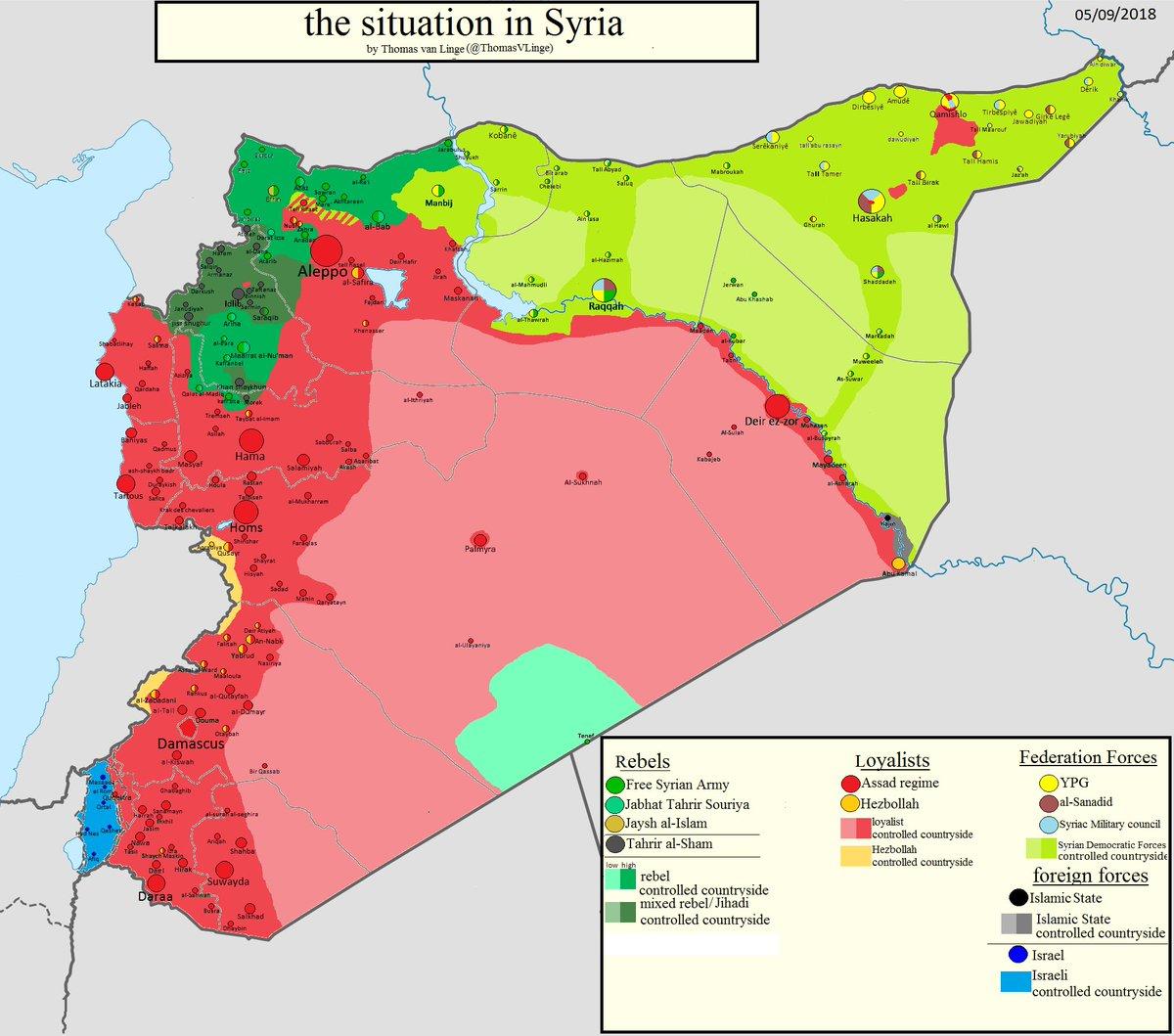 Thomas Van Linge.Thomas Van Linge On Twitter Syria Map Update The