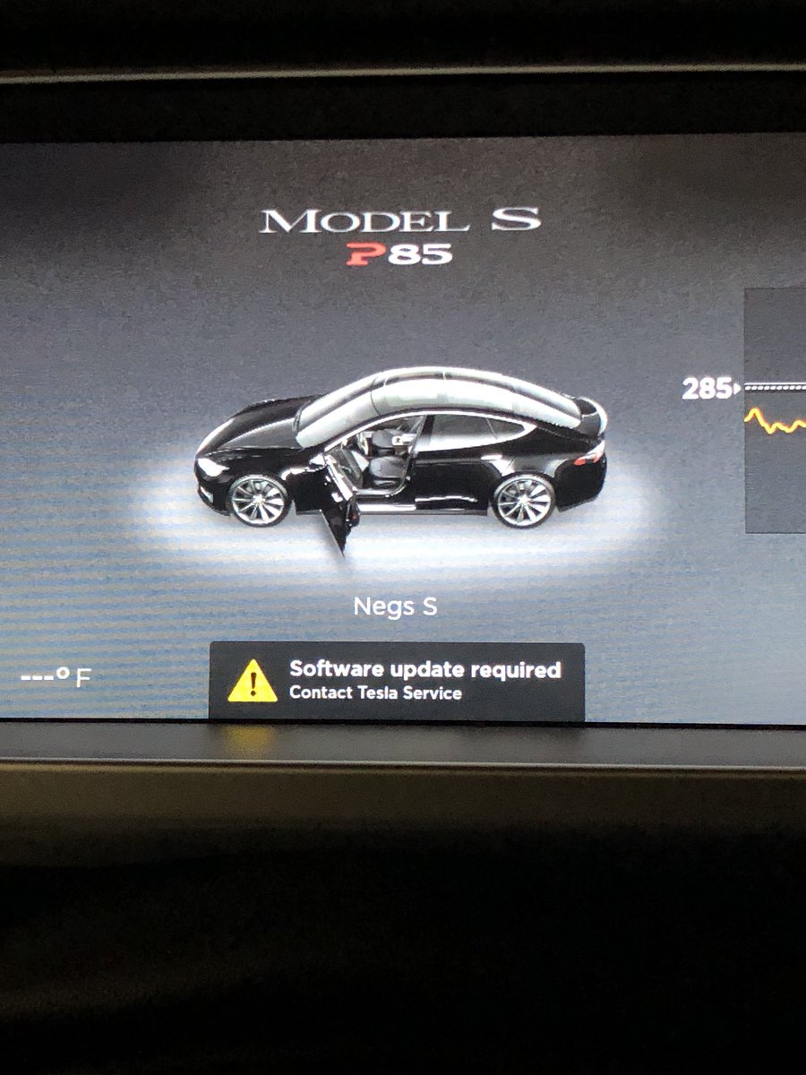 Latest Tesla Software Update >> Ryan Negri On Twitter Software Update Issue With The Model S Today