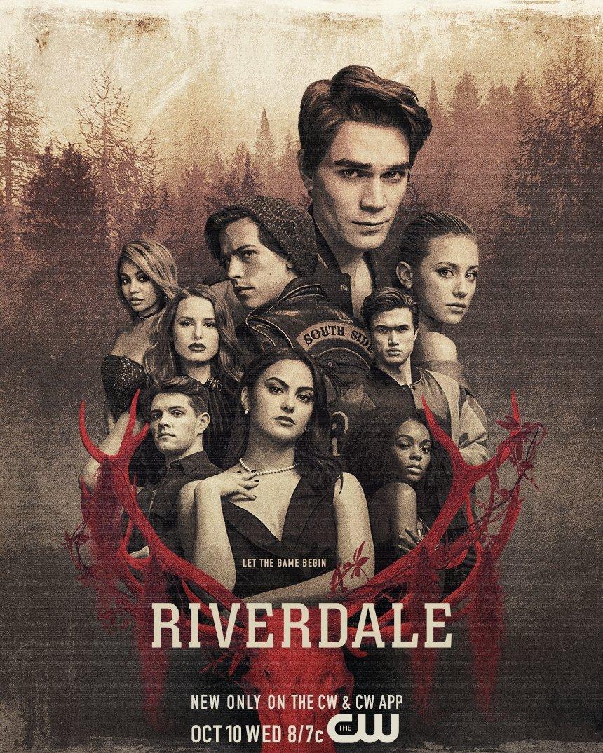 And #Riverdale has a Season Three poster… Beware the #gargoyleking