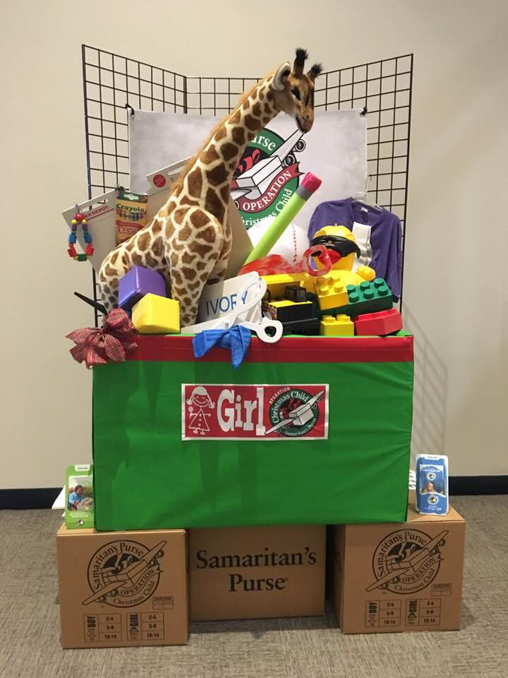 Operation Christmas Child Shoebox Display.Operation Christmas Child On Twitter Big Things Are In