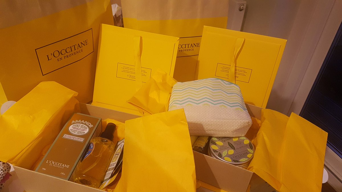 Smcourt On Twitter Oooh At Some Of My Birthday Gifts Lovelies Know Me Well Smell Loccitane Allforme Presents Mine Thatwillkeepmegoing