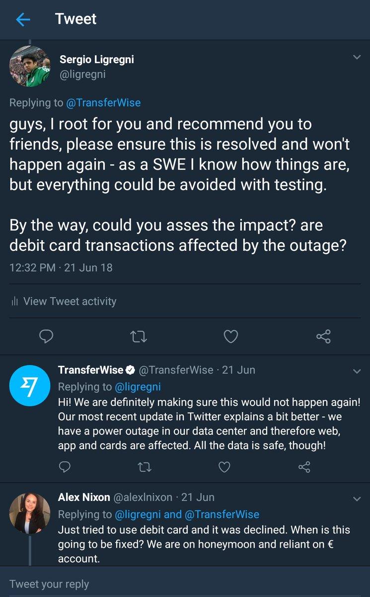 TransferWise on Twitter: