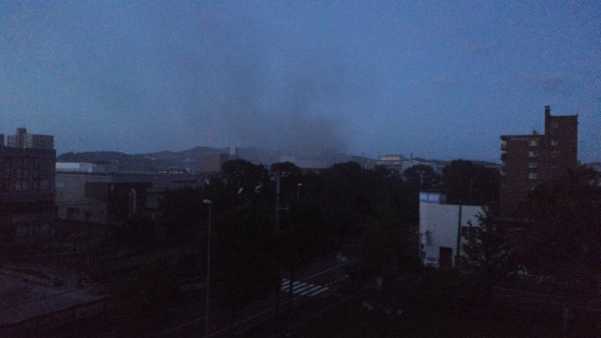 【火事】北海道地震 室蘭市の石油コンビナート施設で火災 室蘭 ...